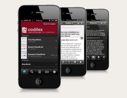 PN Sakkoulas - Codilex iPhone app